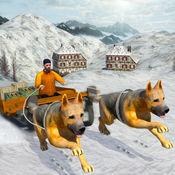 雪橇狗模拟器:冬天极端货物运输 Snow Dog Cargo Transport