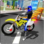 极端摩托自行车...