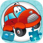 幻灯片拼图和照片 - 汽车滑块拼图游戏 1.1