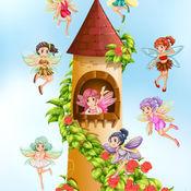 童话故事!童话公主游戏的小女孩 1.2