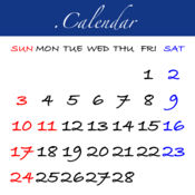 .Calendar - 壁...