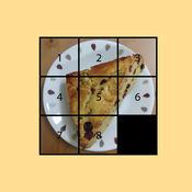 Slide Puzzle - slide and fit puzzles into center squar