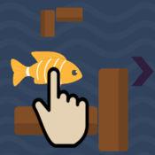 滑动笨拙的鱼亲 ...