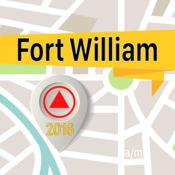 Fort William 离线地图导航和指南 1