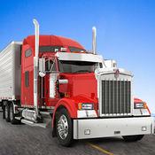 重型卡车模拟器美国 - 公路18惠勒运输货物转运和装载机司