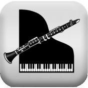单簧管,钢琴 Clarinet Piano 1