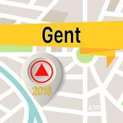 根特 离线地图导航和指南 1