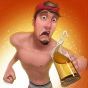 校园啤酒运行3D  - 欢闹学院伙计,醉小鸡,和兄弟会的弟兄酒精火拼