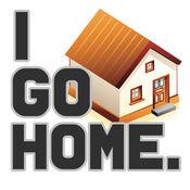 I GO HOME.  很容易,你可以找到的路径主页。 1.3