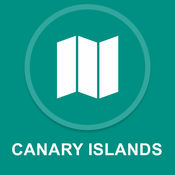 加那利群岛 : 离线GPS导航 1