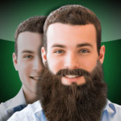 胡须制造者照片编辑器:虚拟理发师沙龙来尝试不同的头发面