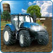 真实 农场 拖拉机 停車處 1