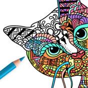 猫图片: 成人 著色 本 1.1