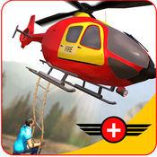 直升机救援模拟器 3D-救援行动 1