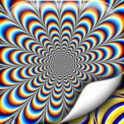 迷幻壁纸艺术 – 催眠背景图片对于的光学幻觉 1
