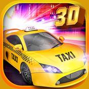 Real Taxi Driver 3D: Crazy Cab City Rush - Free Car Ra