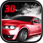 红线赛车 - 顶部3D汽车特技赛车游戏 1