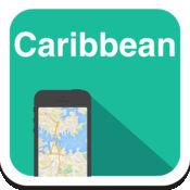 加勒比海(古巴,多明尼加,波多黎各,海地) 离线地图,指南,天气,酒店