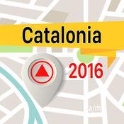Catalonia 离线地图导航和指南 1