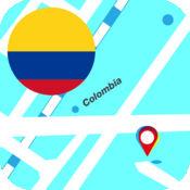 哥伦比亚离线地图 2