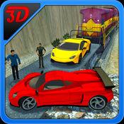 汽车转运火车3D - 超快速汽车货物运输 1