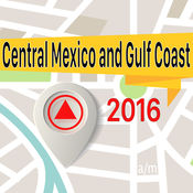 Central Mexico and Gulf Coast 离线地图导航和指南 1