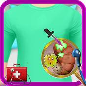 肾脏手术 - 疯狂的外科医生和医院的医生游戏的孩子 1