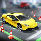 停车挑战:驾驶学校速度测试 1