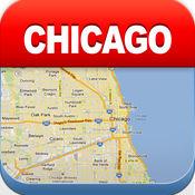 芝加哥离线地图 - 城市 地铁 机场 4.3