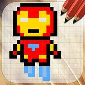 要画什么,像素超级英雄 1