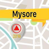 迈索尔 离线地图导航和指南 1
