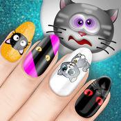 的指甲設計猫咪 – 最好的美容美发和时尚水疗中心 适合小