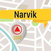 纳尔维克 离线地图导航和指南 1
