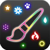 多彩涂鸦Glow Doodle !! – 创意绘画,创作闪闪发光的霓虹粒