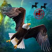 鸟狩猎挑战:野生狙击手射击3Ds