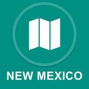 美国新墨西哥州 : 离线GPS导航 1