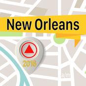 新奥尔良 离线地图导航和指南 1