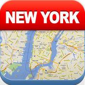 纽约离线地图 - 城市 地铁 机场 4.4