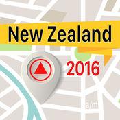 新西兰 离线地图导航和指南