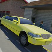 现代豪华轿车的出租车司机 1