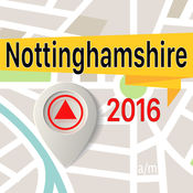 Nottinghamshire 离线地图导航和指南 1