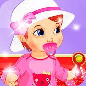妈咪宝贝装扮居室设计绘画: 游戏的孩子幼儿和男孩 1