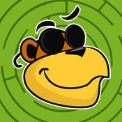 动物在迷宫!小儿童学习游戏迷宫,游戏和谜题 1