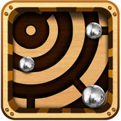 Labyrinth Maze Retro Style Game - 钢球重力不畏坐过山车