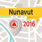 Nunavut 离线地图导航和指南 1
