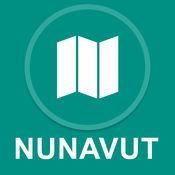 努纳武特地区,加拿大 : 离线GPS导航 1
