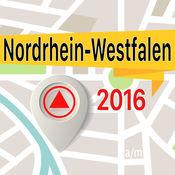 Nordrhein Westfalen 离线地图导航和指南 1
