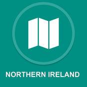北爱尔兰,英国 : 离线GPS导航 1