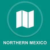 墨西哥北部 : 离线GPS导航 1