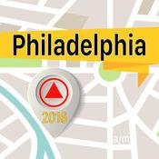 費城 离线地图导航和指南 1